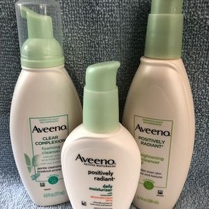 Aveeno Facial Cleansers & Moisturizer